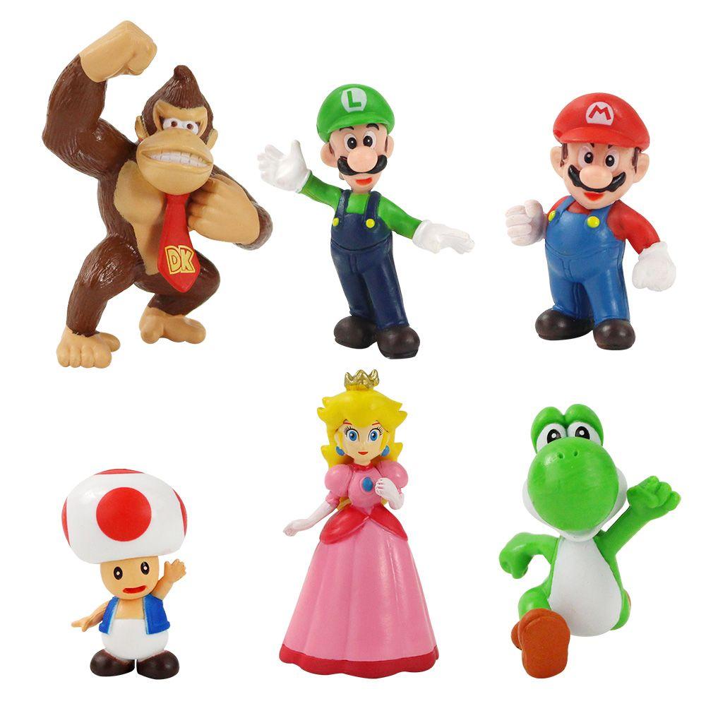 2020 Super Mario Bros Peach Daisy Toad Mario Luigi Wario Yoshi