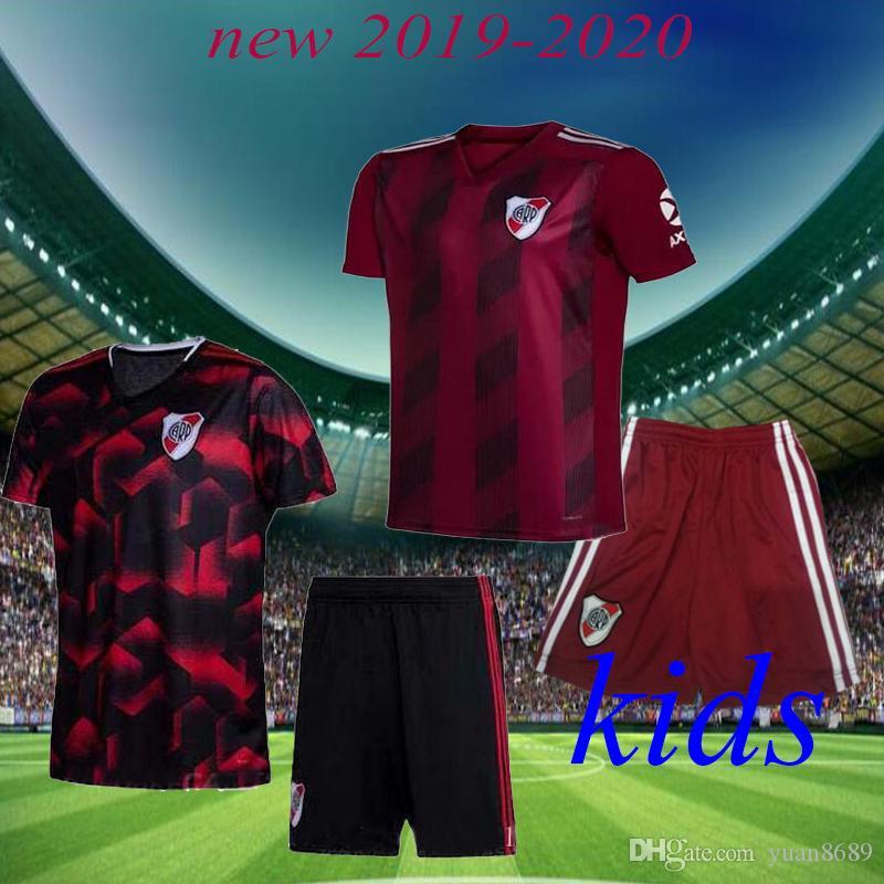 2020 Nehir Plaka ev çocuklar Futbol Forması Nehir Plaka uzakta G. MARTINEZ QUINTERO PRATTOSoccer Gömlek 19/20 riverbed Futbol Üniforma