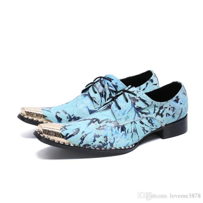 Vestido de negocios de moda Zapatos de hombre 2019 Nuevos trajes de cuero clásicos para hombre Zapatos de fiesta para hombre de moda Zapatos de vestir sin cordones para hombre Zapatos Oxford