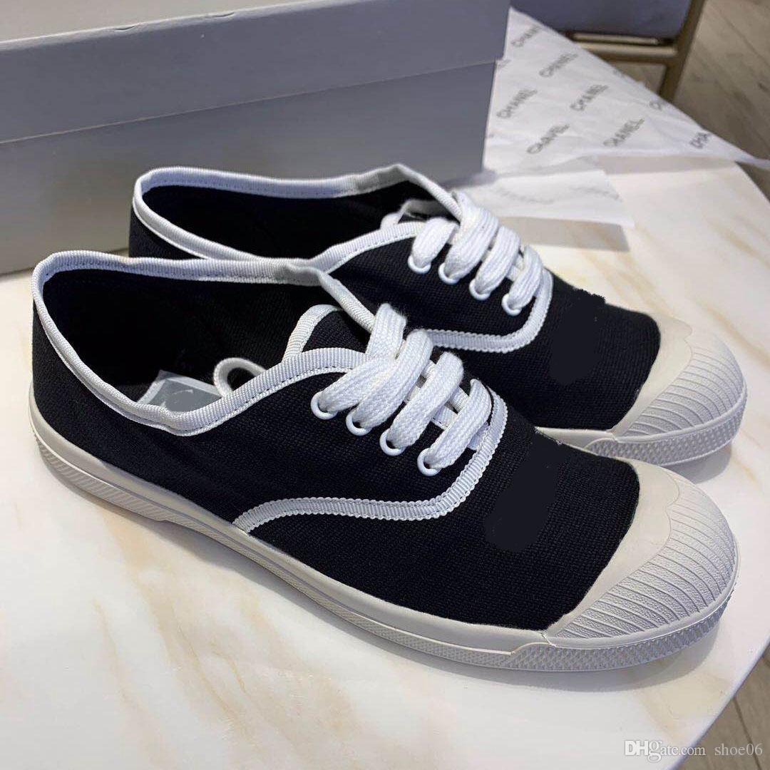 Con la caja de la zapatilla de deporte Zapatos casuales Entrenadores Moda deportiva Zapatos de diseñador Entrenadores Los mejores zapatos de calidad para la mujer Envío gratis por shoe06 XNE1203