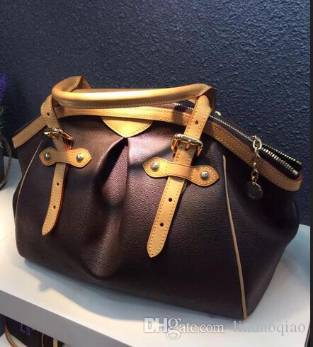 Saco de chapéu de chapéu sacos de marca 100% couro real vintage famoso designer de couro oxidado oxidação livre nome genuíno bolsas shippin bolsa kcbuh