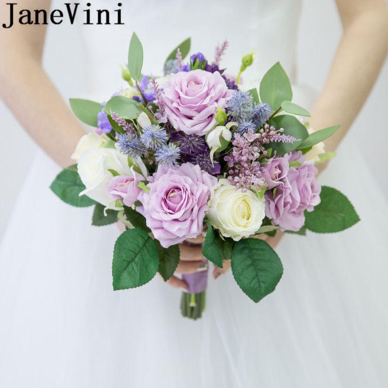Foto Bouquet Sposa.Janevini Fiori Sposa Purple Boquet Wedding Bouquet Accessories