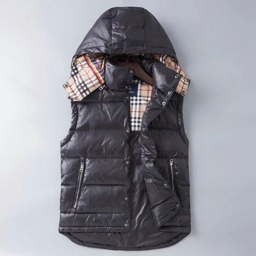 2019 de invierno de los hombres gruesa cálida cálida abrigo abajo chaleco hc197806