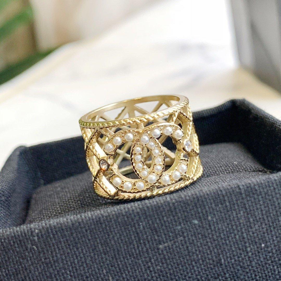 Gros- Femme Anneau de qualité supérieure en laiton Bague perle sauvage Valentine mode cadeau Jewezy