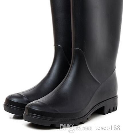 Свадебная обувь / 2019 НОВЫЕ женские RAINBOOTS модные короткие непромокаемые ботинки водонепроницаемые удобные ботинки rainboots водная обувь rainshoes высокая 28см Свадебная обувь