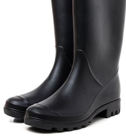 Zapatos de boda / 2019 NUEVAS botas de lluvia para mujer botas cortas de lluvia impermeables botas de lluvia impermeables botas de agua zapatos de lluvia zapatos de lluvia de 28 cm de alto