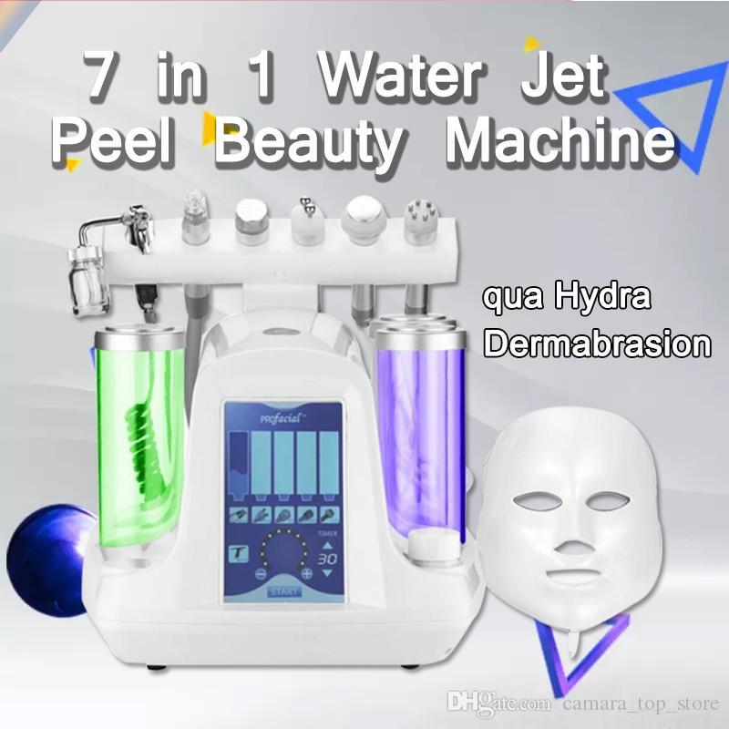 Mise à niveau Microdermabrasion Hydrafacial Machine Nettoyage en profondeur de la peau Injection d'oxygène Oxydant Eau Hydro Dermabrasion Adoucir la peau Supprimer Rides
