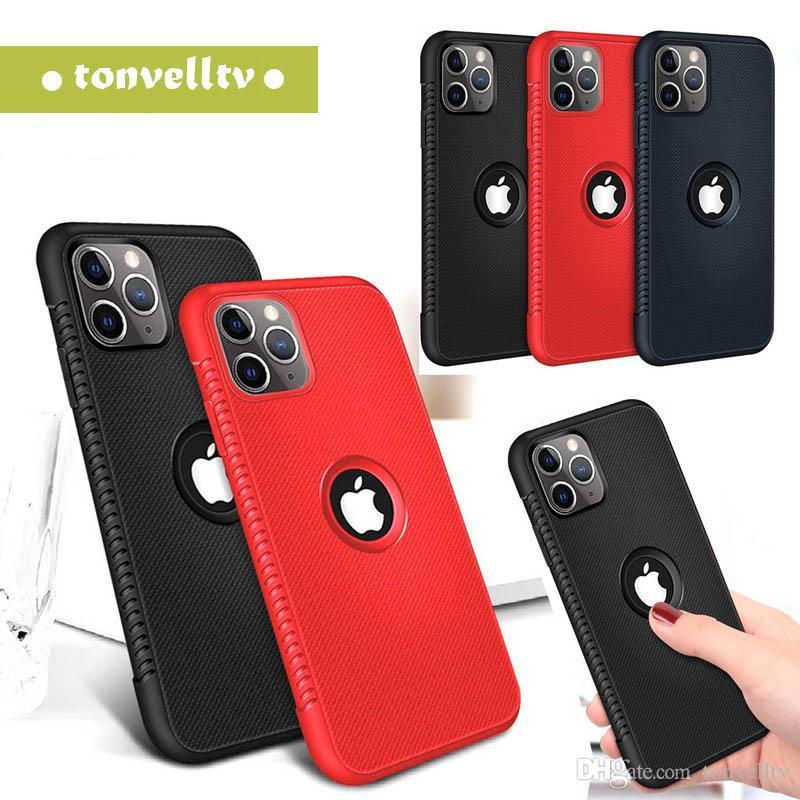 Neuer Kasten für iphone 11 X XR 7 8 plus 6 6S weichen Silikon-Telefon-rückseitige Abdeckung für iphone Coque 11 pro max XS Max 6 6S Plus-11-Hüllen