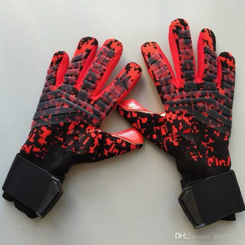 As luvas de New SGT Goleiro luvas de látex do futebol do futebol Latex Profissionais de Futebol Luvas nova bola Soccor