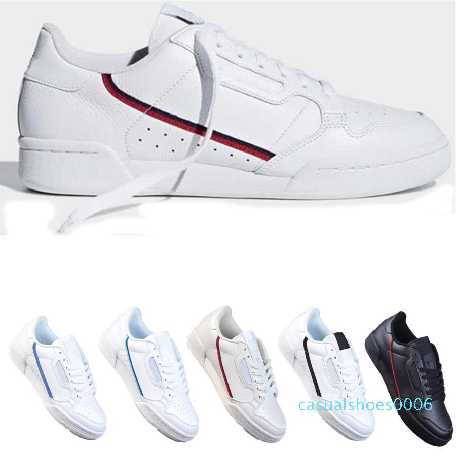 PowerPhase Calabasas Continental 80 Rascal cuir Kanye West Chaussures Casual Gris OG Noir Triple blanc de base Hommes Femmes Mode Chaussures 36-44 C06