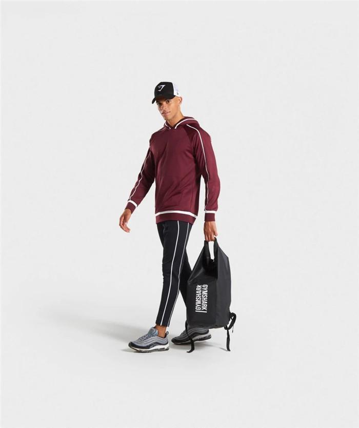 Tute Uomo Primavera Designer 2 pezzi Tute personalizzato moda con pannelli con cappuccio a maniche lunghe casuale solido di colore allentato
