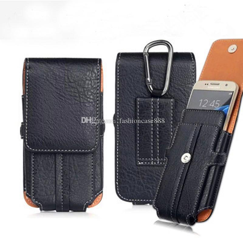 Cinturón de cinturón de cinturón de cinturón universal Caja de cuero de cuero para iPhone 11 XR XS MAX X 8 7 6S PLUS SAMSUNG S10 S8 S9 PLUS Note 8 9