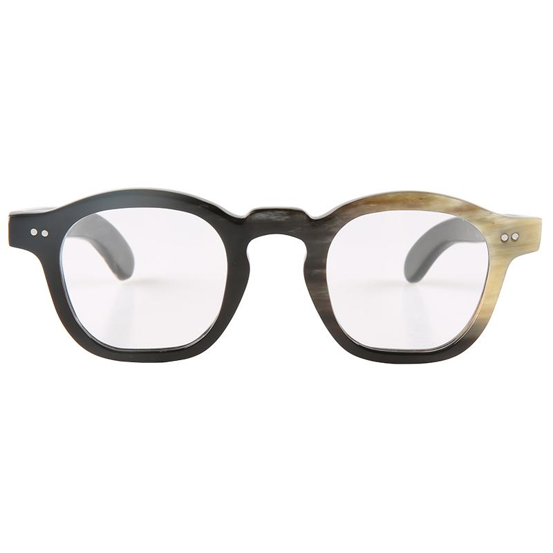 Классическая мода бабочка заклепки украшения Японский стиль ручной работы женские роговые очки оптические очки роговые солнцезащитные очки