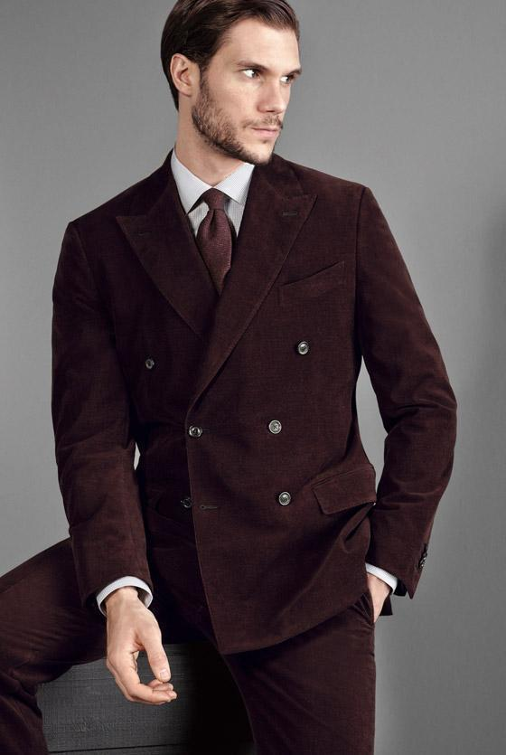 Nice Latest Coat Pant Designs Wine Red Burgundy Velvet Suit Double-breasted Tuxedos Slim Fit Business Wedding Jacket And Pants