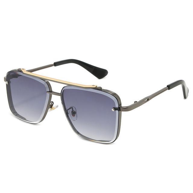 Oversized Shades Sunglasses Vintage Large Frame Plank Lightweight Sunglass Eyewear Men Women Retro Adumbral Sun Glass