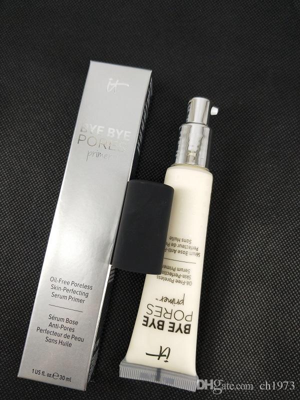 Nova Maquiagem BYE BYE Poros Primer matte pele aperfeiçoamento primer 30 ml Fundação Primer DHL navio livre