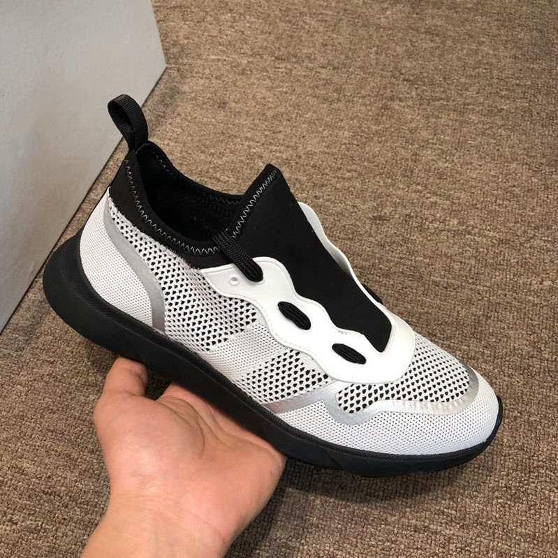 2019 nuovi pattini del progettista uomini e le donne del progettista scatola originale tecnologia Neo Sneaker tecnologia Knker scarpe casual traspirante lavorato a maglia