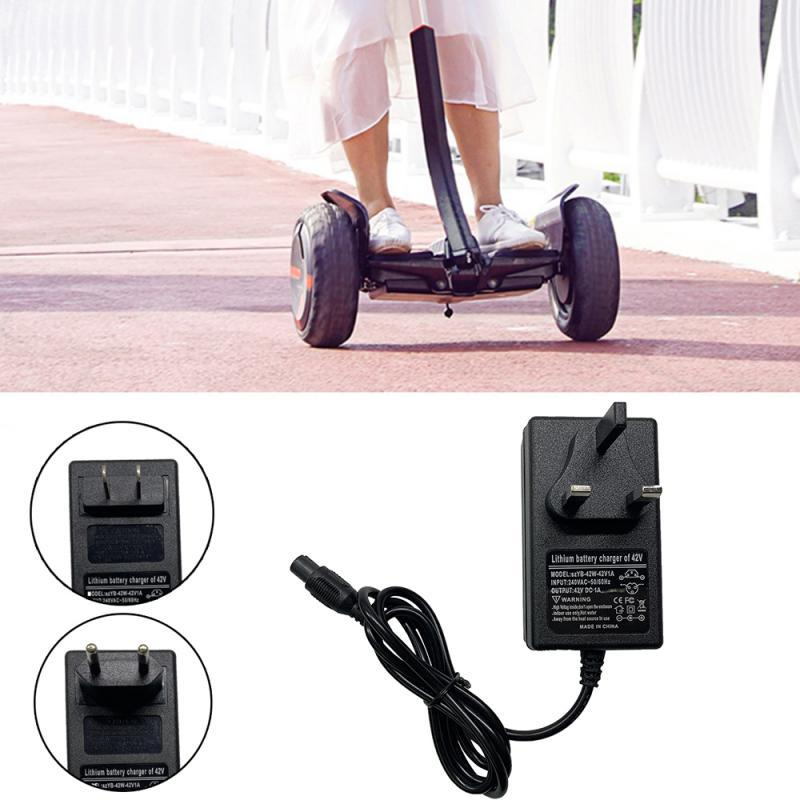 42V1A Für / Hoverboard Auto Elektro-Scooter-Adapter-Aufladeeinheit US / EU / UK-Stecker Mini Charger