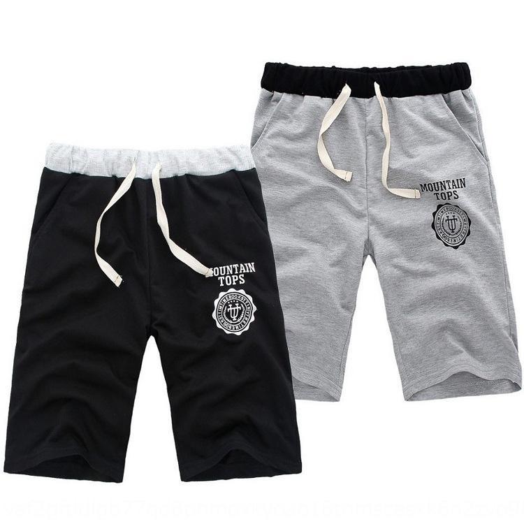 2020 и shortssummer мужских пляжных брюки печатных домов шорты мужского фабричного сплошного цвета случайных шорт Нового