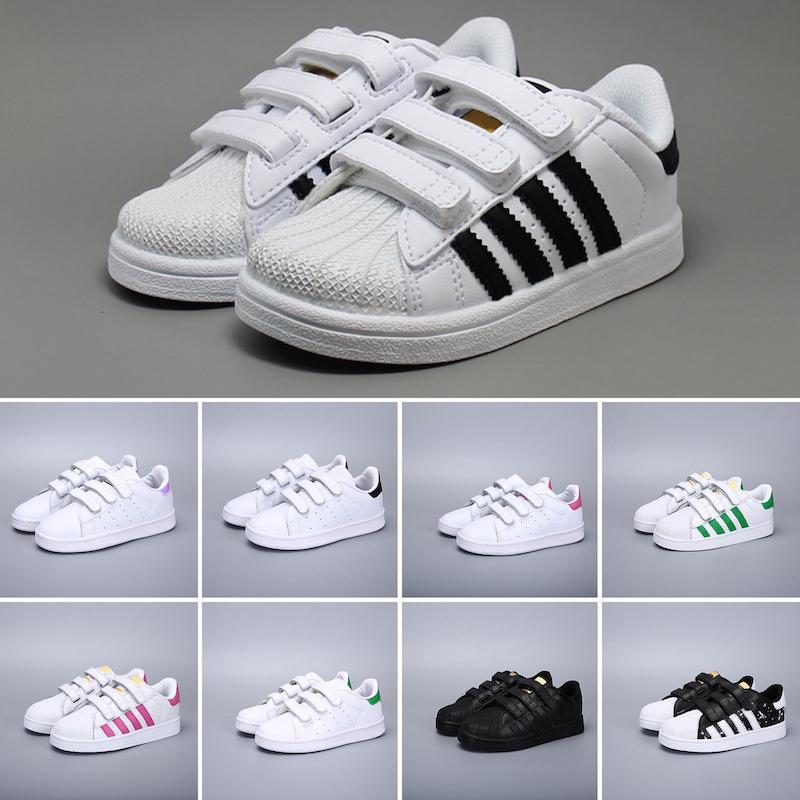 Acheter Adidas Superstar 2019 Enfants Super Star Blanc Hologramme  Iridescent Junior Superstars Années 80 Fierté Enfant Garçons Filles Baskets  ...