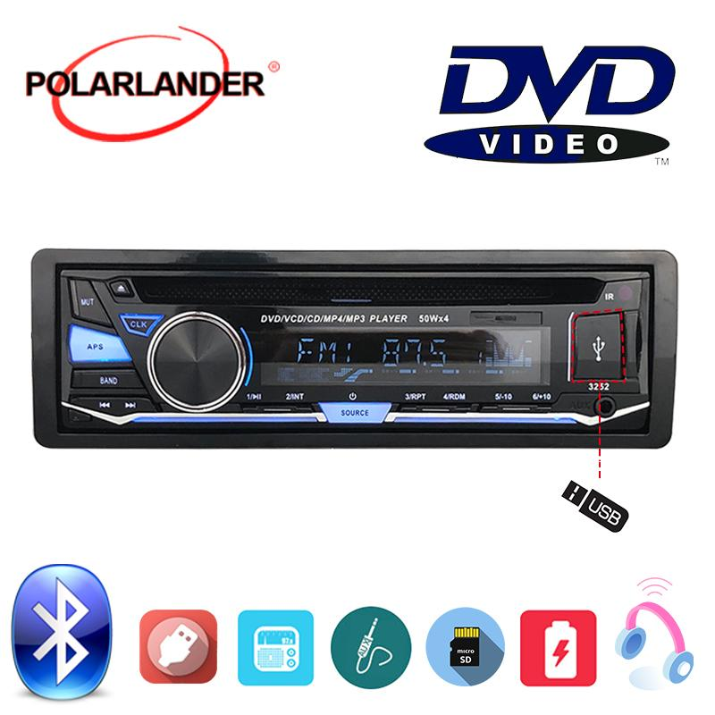 Autoradio-Stereo mit Fernbedienung BT Bluetooth Abnehmbare Platte 1 DIN Audio Music FM AUX IN USB-SD-Karte CD-DVD MP3-Player