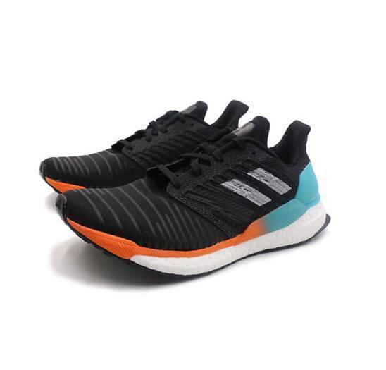 2020 nuevos zapatos respirables del deporte ocasional corriendo mujeres de los hombres zapatillas de deporte de diseño solar de 19 W M blanco red3751 negro #