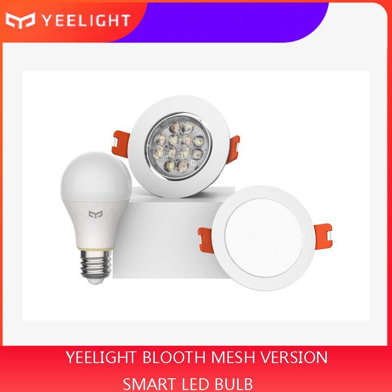 Xiaomi mijia yeelight BLUETOOTH системы Mesh Version умной лампочку и светильника, прожектор с работой yeelight ворот в милях домой приложение