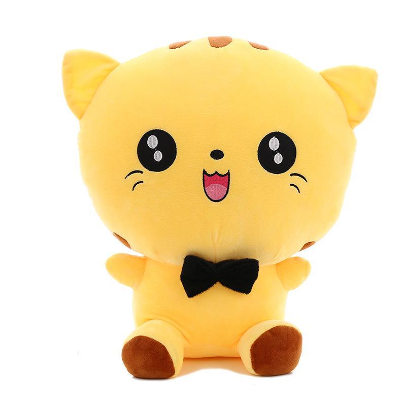 Милый творческий большой хвост большое лицо кошка счастливый большой кот плюшевые игрушки куклы подушка куклы День Святого Валентина подарок игрушки магазин мягкие игрушки