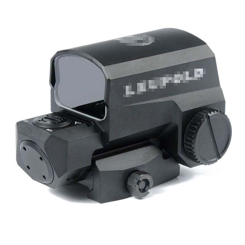 전술 LEUPOLD LCO 레드 도트 사이트 1 MOA 점 홀로그램 소총 범위는 마크 검은 색을 가진 모든 20mm 레일에 적합