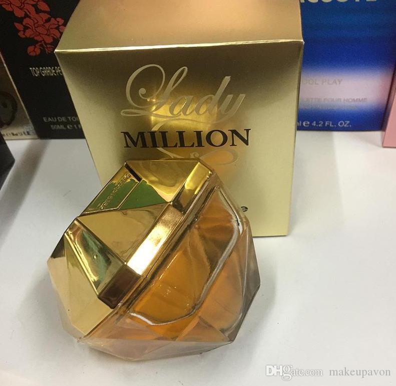 Top Quaity! 1 MILLION Parfüm für die Dame Frauen 80ml mit lang anhaltender Zeit guten Geruch gute Qualität hohen Duft capactity
