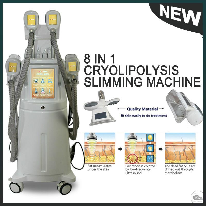 2020 Promotion! Cryo Fat Loss Machine Portable Cryolipolysis Fat Freezing Machine Freeze Away Fat Removal Cryotherapy Vacuum Weight Loss