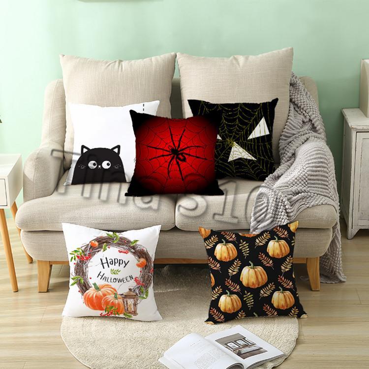 nova 40styles Almofada Halloween fronha abóbora Tampa Farmhouse Tema fronha Início sofá do Natal decoração Cama Suprimentos T2I5360