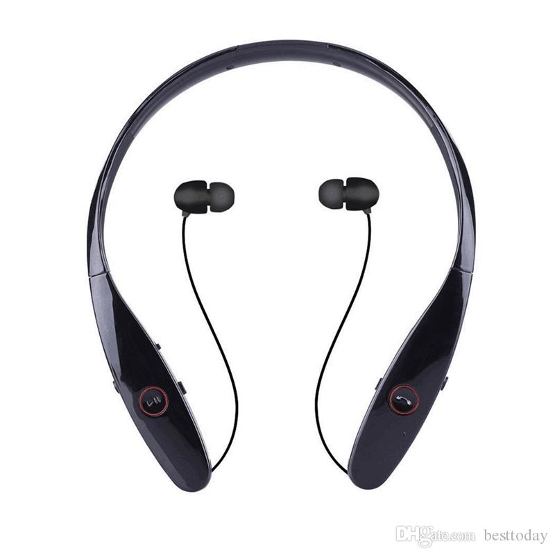 Hbs900 Best Headphones With Microphone Bluetooth Neckband Headphones With Retractable Earbuds Running Sports Sweatproof Noise Cancelling Cordless Headphones Earbuds For Running From Besttoday 7 58 Dhgate Com