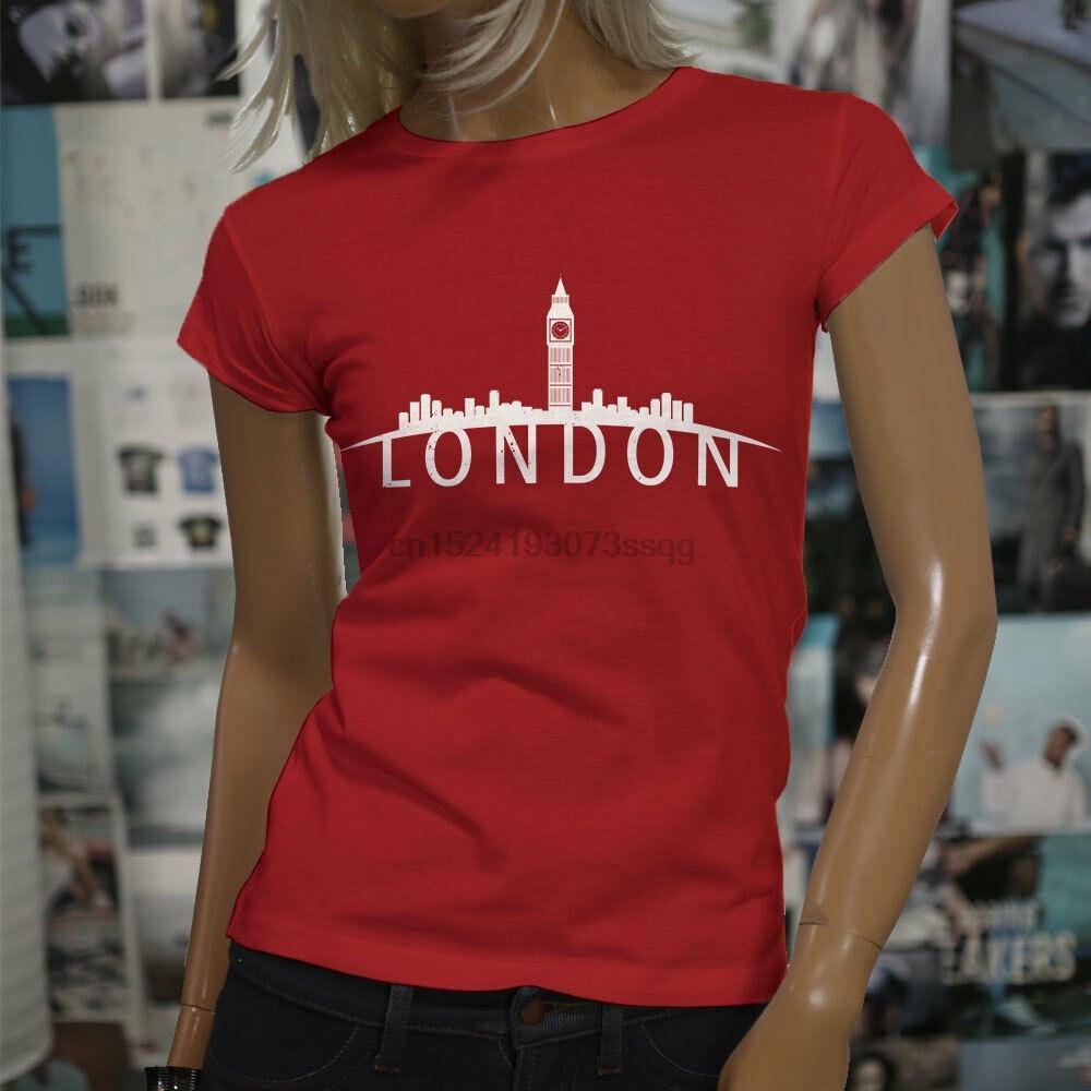 London Skyline England Pride Big Ben London Eye Womens Red T Shirt Interesting T Shirt Designs T Shirts Cool Designs From Amoyoutfit 20 25 Dhgate Com
