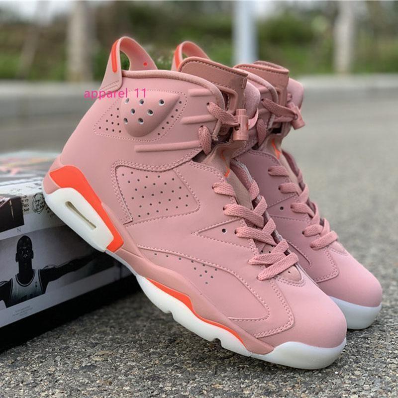 Rosa Aleali maggio X Rosa Brillante scarpe da basket 6S Designer Sport Sneakers Popolare Tendenza scarpe per gli uomini delle donne Pattini degli addestratori in magazzino