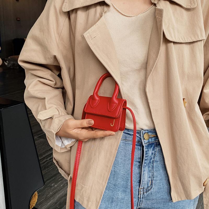 2020 Moda super mini bolsos de las mujeres bolsos de diseño lindo del hombro de lujo Pequeño Crossbody Bolsa Letra J niñas Mensajero BagsASDSAD