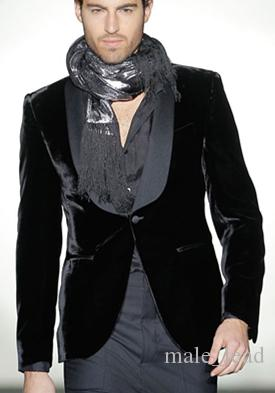 Мода Вельвет Жених Шаль Отворотом Смокинги Жениха Мужские Свадебные Платья Человек Куртка Пиджак Пром Ужин 2 Шт Костюм(Куртка+Брюки+Галстук) A92