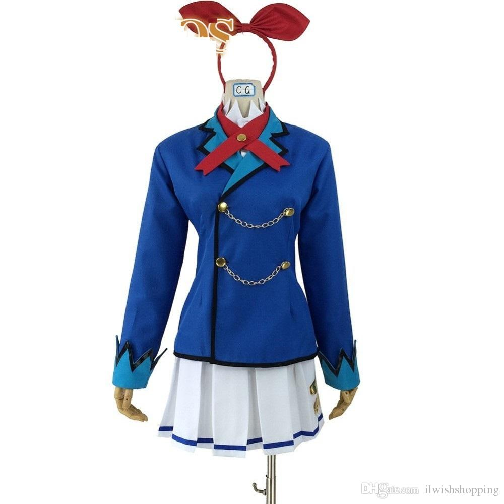 2020 Aikatsu! vestido de fiesta lolita marinero diseño Hoshimiya Ichigo cosplay traje de Halloween traje traje personalizada Aceptado