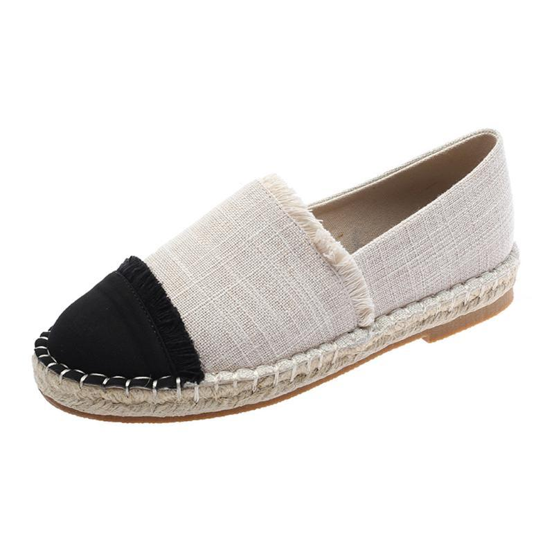 Easy Love Summer Shallow Mouth Woman Casual Shoes Comfortable Casual Loafers Slip On Women Canvas Shoes,Gray,9
