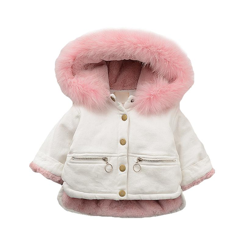 Comfy Toddler Fleece Hooded Baby Jackets Horn Button Outerwear Boy Snowsuit Warm Clothes Cute Kids Baby Boys Winter Coat