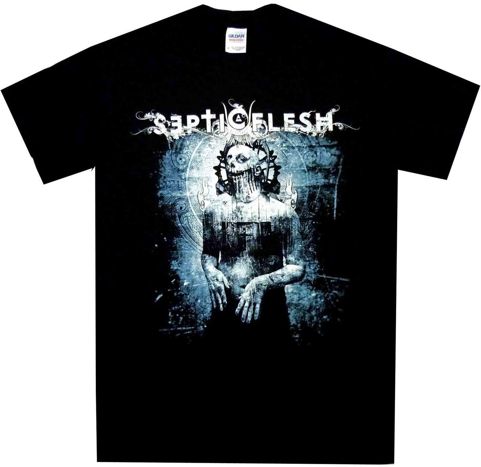 Chemise Mystic Flesh Places Of Dawn Mystic S M L XL T-shirt Officiel Nouveau