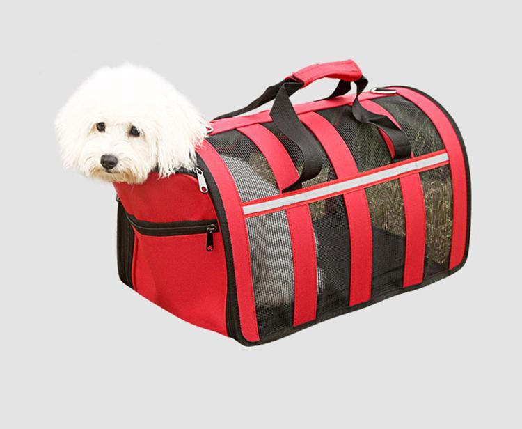 Портативный Mesh собак Pet Открытый Перевозчик Дышащие Pet Путешествия Сумочка собак Передние сумки Cat Рюкзак Тедди чихуахуа Поставки