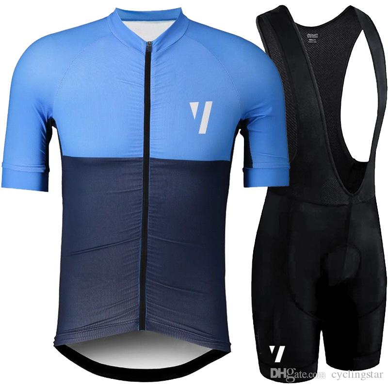 2019 VOID Summer Pro team Short Sleeve Men's Cycling Jersey Bib Shorts Set Bike Clothes Ropa Ciclismo Bicycle Clothing kits Y022701