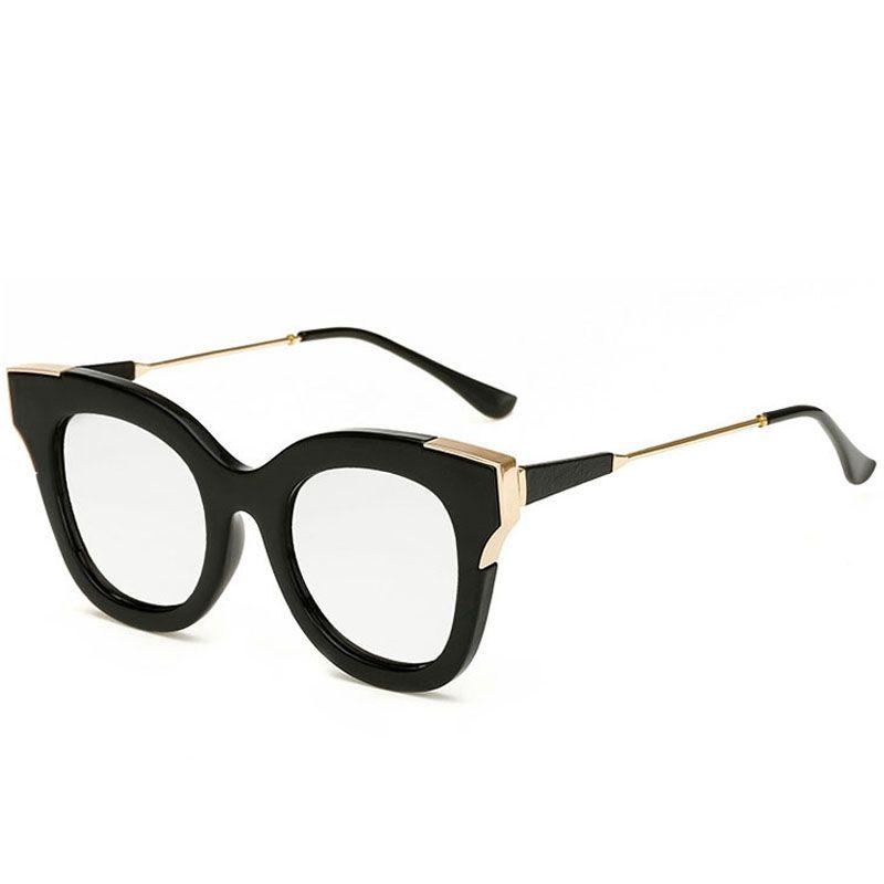 Occhiali da sole per gli uomini delle donne di modo occhiali da sole donna retrò Sunglass Mens di lusso di vetro di Sun specchio di alta qualità Occhiali da Sole 2C7J14