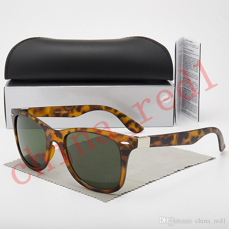 Рамка 6 Новые Солнцезащитные очки Цвет Чехол Бренд Солнцезащитные Очки Полный с дизайнером Мужчины Женщины Металлические Мода Стеклянная Линза UV400 и Коробка Рамка Прибытие XQnnk