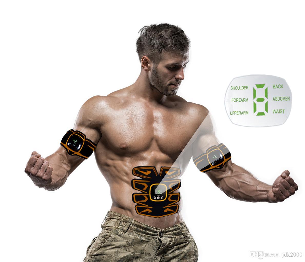 2019 multifunzione SME allenatore macchina Salute addominale muscolare elettrica stimolatore ABS fitness trainer grasso massaggiatore bruciore muscolare Trainer