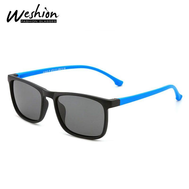 Occhiali da sole di marca per bambini polarizzato quadrati ragazzi bambini Occhiali da sole della gioventù delle ragazze del ragazzo 5-15 flessibile TR90 degli occhiali UV400 2020 Nuovo