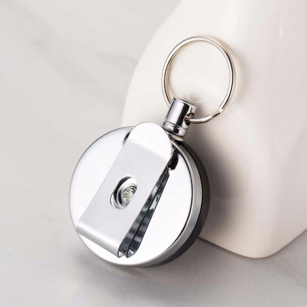 Portable Outdoor Safety Key Chain Classic Retractable Recoil Belt Clip Rope Keyring Fashion Jewelry Accessories Pendant keychain