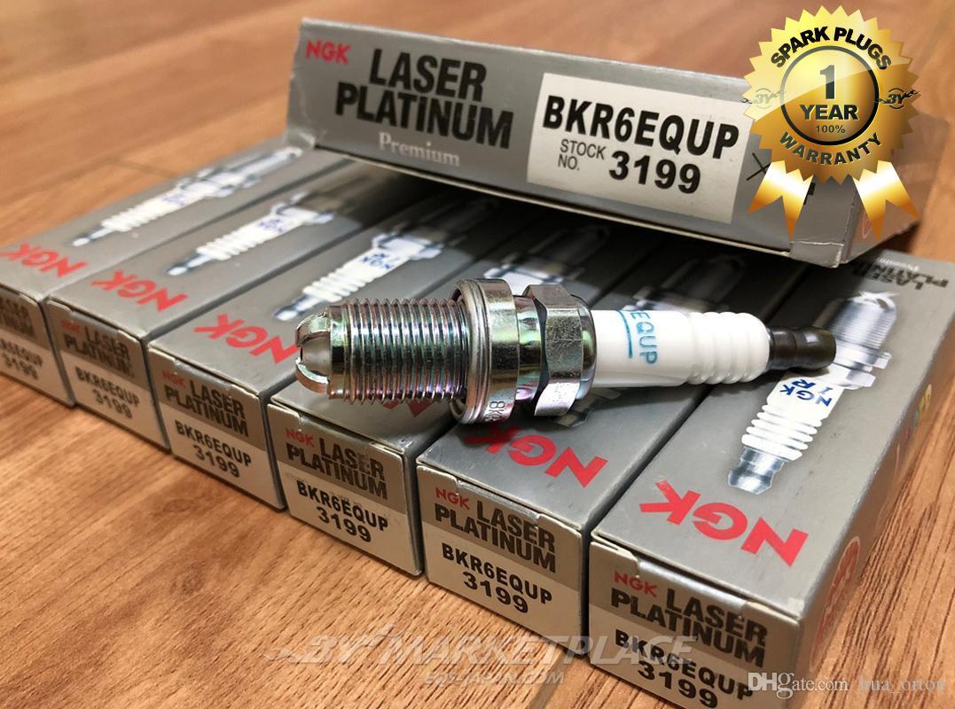 Bkr6equp 3199 автомобильные свечи зажигания для AUDI A8 BMW 320i 528i X3 X5 Porsche 911 Carrera Arange Cowin platinum