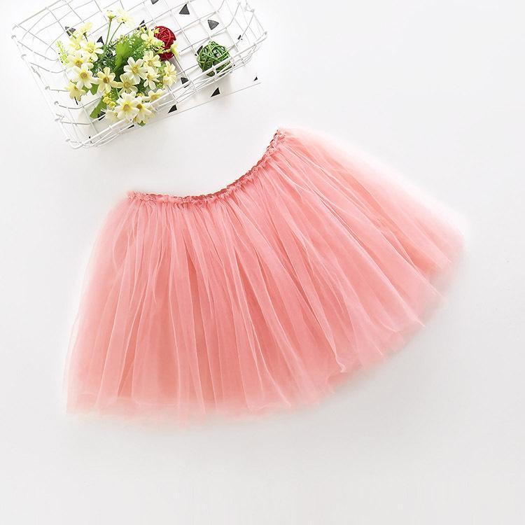 Mädchen Netz Pengpeng Kostüm Kinder 61 Tanzkuchenrock Tutu Prinzessin miniskirtPackage Mail-Rock